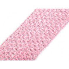 Gummiband Netz 7cm rosa Outdoor Blanket, Pink, Mesh, Fabrics
