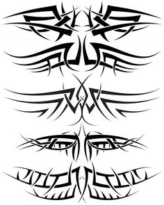 Tribal tattoos are great for any body part. In our tribal tattoos for men gallery you will find images both large and small on all areas of the body. Tribal Tattoos For Men, Tribal Tattoo Designs, Henna Designs, Tattoos For Guys, Arrow Tattoos, New Tattoos, Tatoos, Symbolic Tattoos, Henna Art