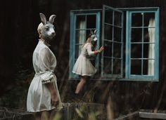 Alex Stoddard-Catharsis. This photo reminds me of Alice and Wonderland. I would love to branch off next year and create works similar to this.