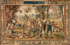 'Grand Design' Showcases Pieter Coecke Tapestries at the Met - NYTimes.com