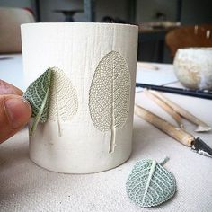 clay ceramics db - design bunker on Instagra - clay Diy Clay, Clay Crafts, Ceramic Clay, Ceramic Pottery, Ceramic Bowls, Slab Pottery, Keramik Design, Concrete Crafts, Concrete Projects