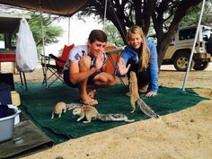 This is Africa: Camping in Kgalagadi