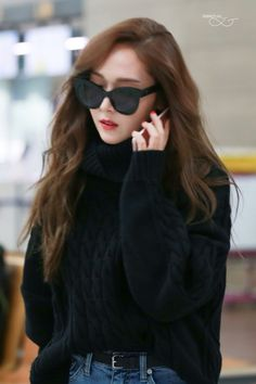 Jessica jung airport fashion 2016