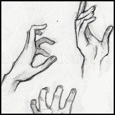 How To Sketch Hands, Step by Step, Drawing Guide, by Dawn