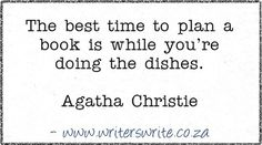 Quotable - Agatha Christie - Writers Write Creative Blog