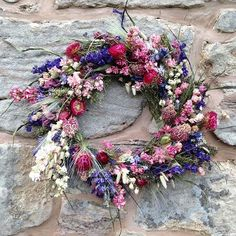 Flowers sown in our potting shed, planted out on our field, picked by our own hands, dried in our barn and arranged in our workshop...dried flower wreaths available to order soon #britishflowers #localflowers #locallygrown #grownnotflown #seasonal #seasonalflowers #flowers #driedflowers #wreath #northumberland #scottishborders #nature #process #myeveryday #flowerfarm #inspiration #gardengathered #underthefloralspell #floralstyling #flowersofinstagram