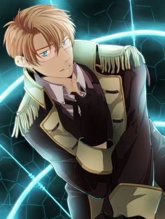 Umayora, Axis Powers: Hetalia, United States, Attempted Girl (Song), Epaulettes, Allied Forces