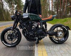 Yamaha Cafe Racer, Cafe Racers, Cb 450 Cafe Racer, Cafe Racer Style, Cafe Bike, Custom Cafe Racer, Cafe Racer Build, Cafe Racer Motorcycle, Motorcycle Design