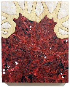 """Kari Södö, """"Temptation"""", mixed media on wood, cm, 2014 Mixed Media, Sculptures, Meat, Wood, Woodwind Instrument, Timber Wood, Trees, Mixed Media Art, Sculpture"""