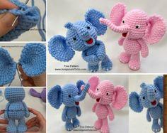 DIY Baby Elephant Crochet Free Pattern