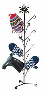 #Snowflake Deluxe Dryer Stand - holds 8 pairs of #mittens or #boots - http://www.okdecor.com/store/p91/mitten-boot-deluxe-dryer-stands.html