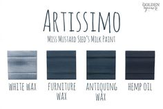 Artissimo Finishes #MMSMP #mmsmilkpaint