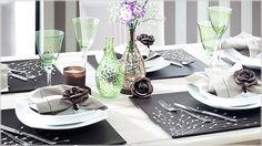 Ocasiões especiais pedem decorações especiais! Reunir a família para uma refeição diferenciada, convidar os amigos para um jantar ou servir convidados importantes com uma mesa produzida impecavelmente.