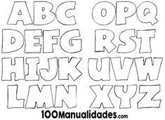 Las 36 Mejores Imágenes De Letras Para Recortar Decorated Letters
