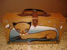 Enid Collins box bag, Glamour Puss