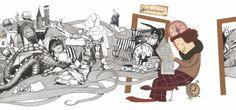 mischa loewenzahn: Fridolin Franse frisiert