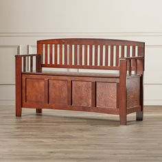 You'll love the Bush Creek Solid Wood Storage Entryway Bench at Wayfair - Great Deals on all Furniture  products with Free Shipping on most stuff, even the big stuff.