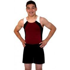 Football Gym Sports Boys White Nylon Lycra Square Cut Gymnastics Shorts