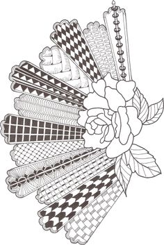 Zentangle made by Mariska den Boer 14