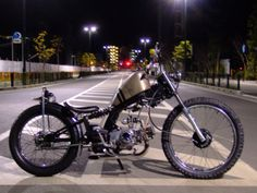 "-Sedition ""style wars"" -: honda solo chopper from totsuka yokohama"