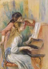 Due ragazze al piano, Pierre-Auguste Renoir xxx