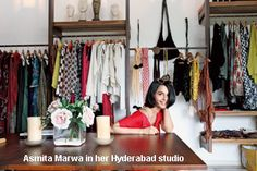 ASmita Marwah's studio in Hyderabad