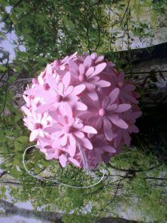 Papieren bloemen bol
