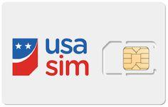 Met de USA SIM kan je zoveel surfen, bellen en sms'en als je wilt in de VS. Bel ook naar Nederland of België. Prepaid, geen extra kosten achteraf!