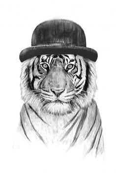 Nous aimons beaucoup Welcome to the jungle de Balazs Solti. Dans le cirque de Balazs Solti, ce n'est plus Monsieur Loyal qui fait entrer les animaux sauvages dans l'arène pendant le spectacle. Ici, le tigre a la place de Monsieur Loyal. Il a commencé par lui voler son chapeau et maintenant il lui a volé la vedette. Tous les cirques se l'arrachent : Medrano, Pinder, le Cirque du Soleil, Gruss…On offrirait bien cette œuvre à un jeune homme fougueux, plein d'humour et d'ambition. Balazs Solti…