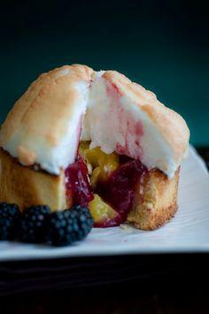 Desserts for Breakfast: Blackberry Lemon Meringue Pie tarts