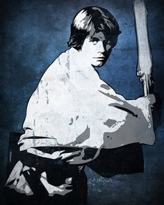 Luke Skywalker Star Wars Pop Art