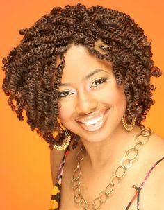kinky twist hairstyles | kinky twist | African curls