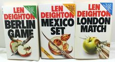 Len Deighton Great Trilogy Game,Set and Match Suspense Series Paperback Lot Of 3 Matching Games, I Am Game, Lens, Store, Books, Ebay, Livros, Tent, Shop Local