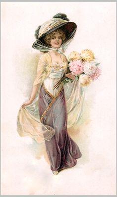 Vintage Victorian Ladies On Pinterest | Pin it Like Image