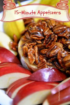 Praline Brie Recipe _ will quickly become your go-to, easy, elegant holiday appetizer when entertaining. Get this family favorite praline brie recipe for your next party! Holiday Appetizers, Yummy Appetizers, Appetizer Recipes, Holiday Recipes, Party Appetizers, Brie Appetizer, Brunch Recipes, Fromage Cheese, Goat Cheese
