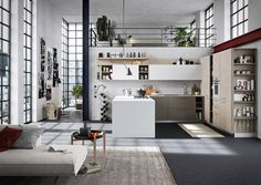 Fun (c) by Snaidero | Fitted kitchens