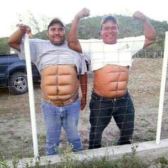 If you don't wanna work for the abs then get Instant abs. two fine examples of temporary instant abs You Make Me Laugh, Laugh Out Loud, Instant Abs, Funny Videos, Humor Videos, Funny Cartoons, Funny Jokes, Funny Laugh, Funny Minion