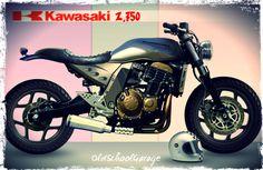 KAWASAKI Z 750 # CAFE RACER # OLD SCHOOL # CITY TRACKER