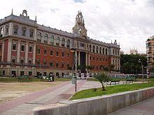 Murcia - Campus de la Merced de la UMU.
