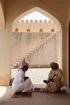 Local life at Zighy Bay Oman