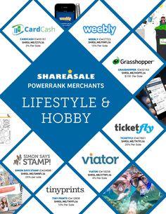 ShareASale Fall Catalog 2016  #travel #media #crafts