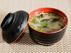 Miso Soup, works during all phases including Attack, 54 calories, add chicken or shrimp for a whole meal