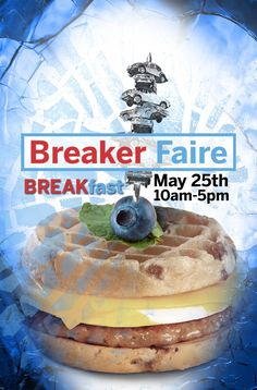 Eat pancakes, smash a car, be surrounded by art! A fundraiser for the Vancouver CoLab and Vancouver Mini Maker Faire, Saturday May Maker Faire, Fundraisers, Vancouver, Pancakes, Good Things, Eat, Breakfast, Mini, Morning Coffee