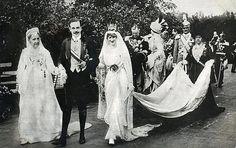 Casamento do Rei D.Manuel II e Princesa Agusta Victoria.