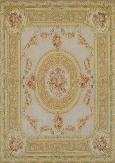 Aubusson rug / wool ETOILE 6602 TISCA ITALIA