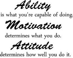 Image result for ability is what you're capable of doing motivation for kids