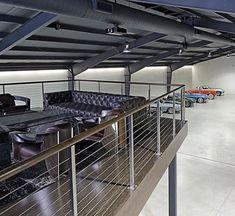 Top 100 of the best dream garages for men - Part Two - Home design für männer - Autos Garage Loft, Barn Garage, Man Cave Garage, Garage House, Garage Workshop, Dream Garage, Garage Shop, Garage Plans, Home Design