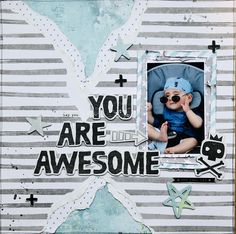 Lay Outs, You Are Awesome, Scrapbook, You Are Amazing, Scrapbooking, Guest Books, Scrapbooks