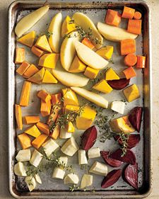 Simple Roasted Root Vegetables...a colorful side dish!