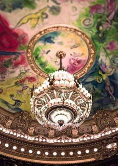 Chagall Ceiling of l'Opéra Garnier, Paris